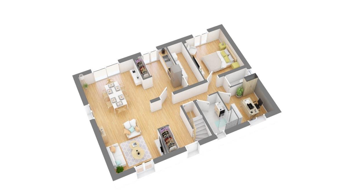 Tradinord_constructeur_maison 59 et 62 _beaumonte-g0-axo_rdc