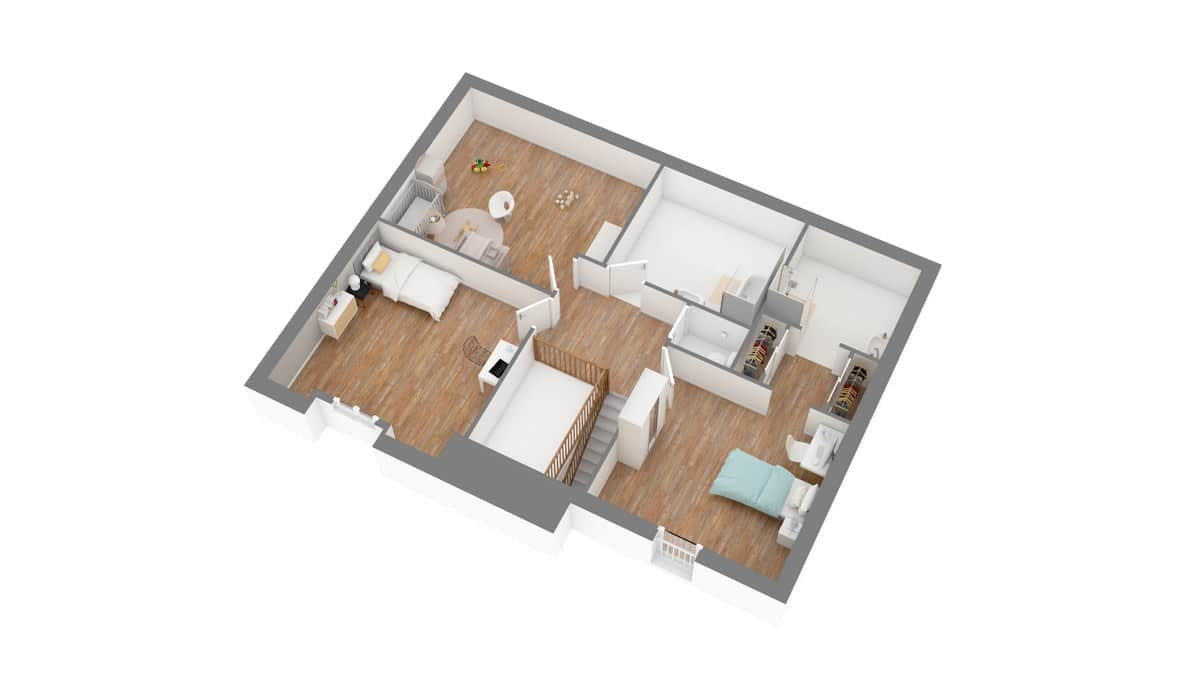 Tradinord_constructeur_maison 59 et 62 _bettigne-g1-axo_etage