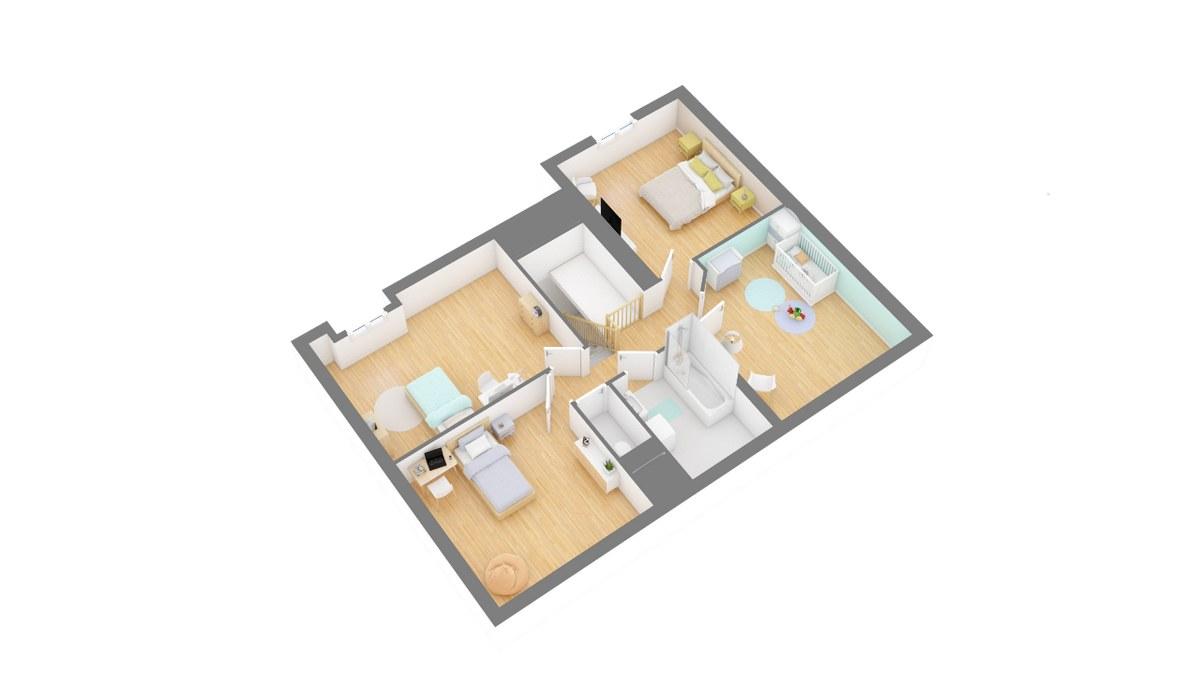 Tradinord_constructeur_maison 59 et 62 _damousie-g1-axo_etage