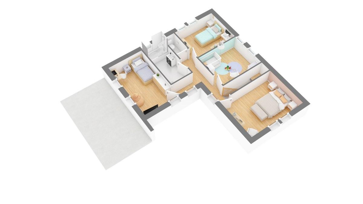 Tradinord_plan-maison_hauts_de_france-_saulty-g1-axo_etage