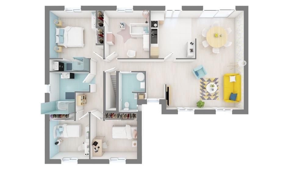 Plan Maison Sommainge